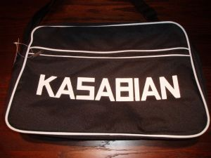 RETRO 70`S STYLE `KASABIAN` SPORTS BAG